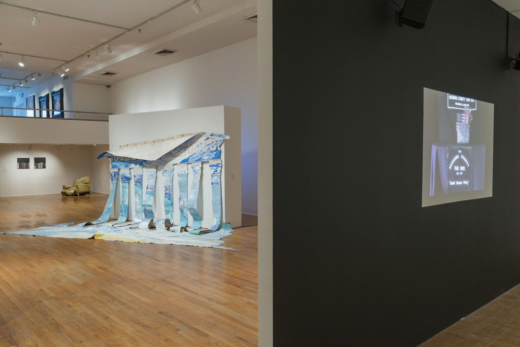 Rodney McMillian: Views of Main Street (installation view). The Studio Museum in Harlem, March 24–June 26, 2016. Photo: Adam Reich