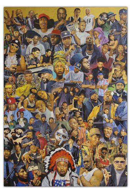 , 'Legends of HipHop (Part II),' 2016-2018, ArtAboveReality