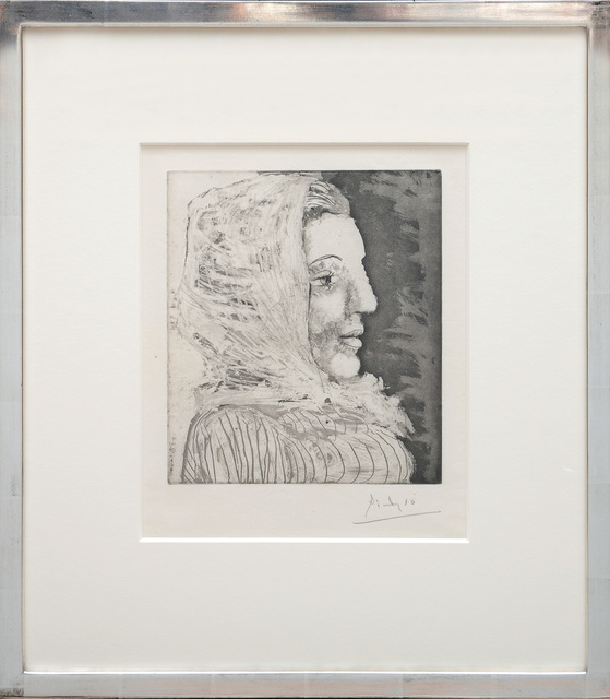 , 'Buste de Femme avec Fichu. (Bust of a Woman with Kerchief.),' 1939, Peter Harrington Gallery