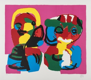 Karel Appel, 'Composition,' 1969, Forum Auctions: Editions and Works on Paper (March 2017)