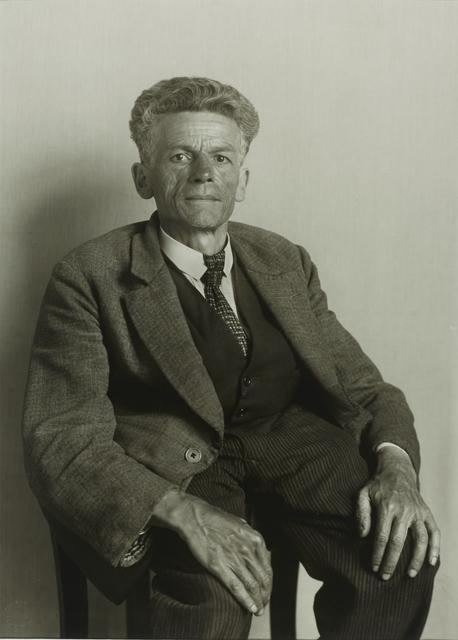 , 'Laborer from Frechen,' 1930, Galerie Julian Sander