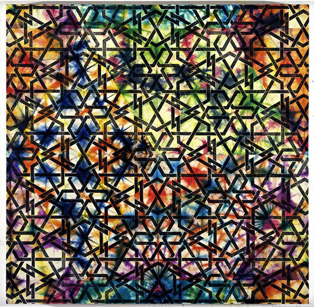 , 'Damascene Panel,' 2008, Leila Heller Gallery