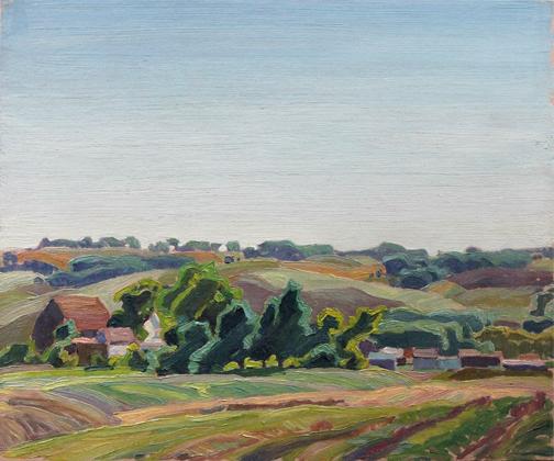 , 'BARNS & ELMS,' ca. 1940, Roberts Gallery Ltd.