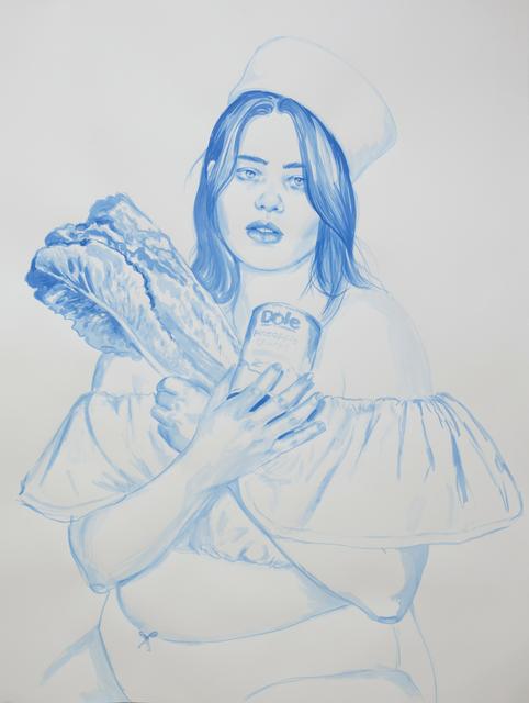 , 'Minibar Mistress,' 2017, Galerie Sébastien Bertrand