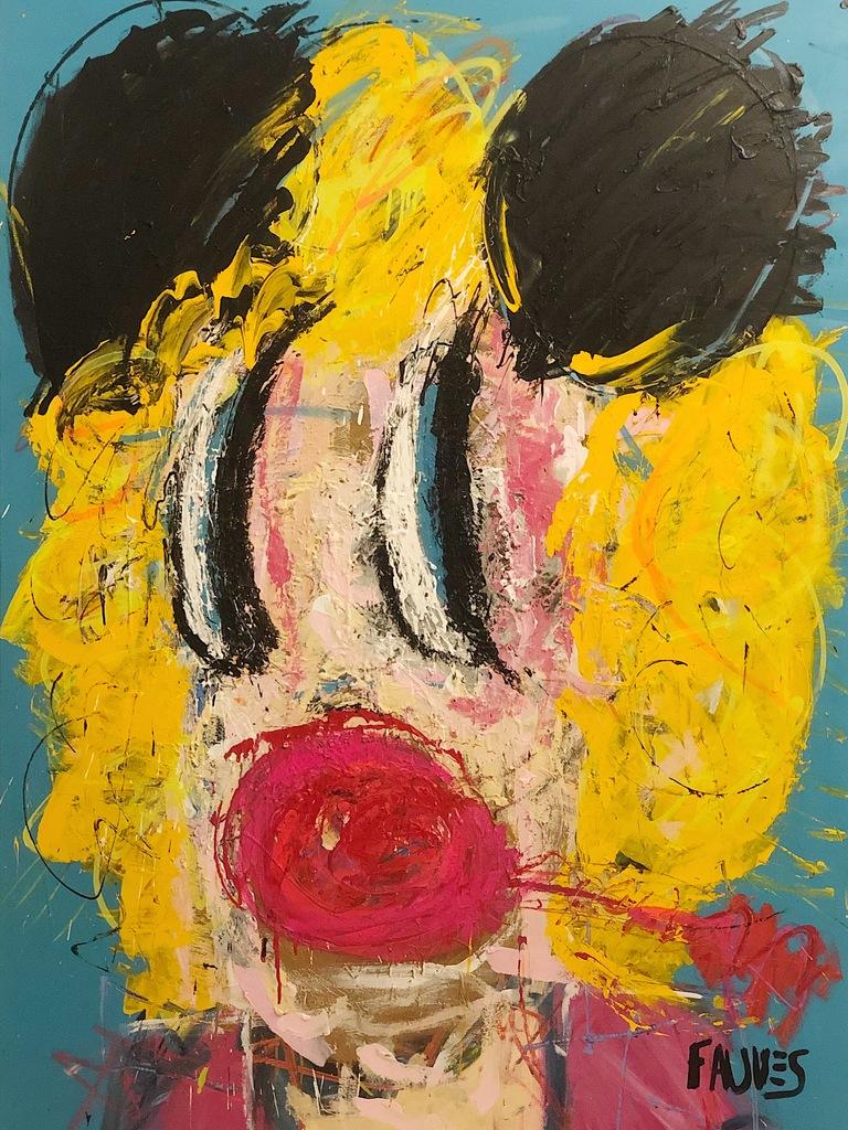 édition Standard DESIGNER Vinyl Figure by ARTIST BRANDI Milne BUNNY Ride allez