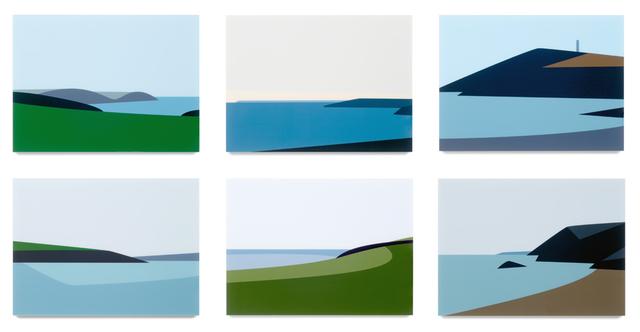 Julian Opie, 'Cornish Coast 2.', 2017, Galerie Boisseree