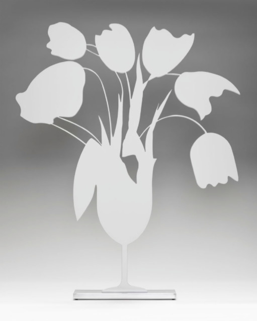 Donald Sultan, 'White Tulips and Vase April 4, 2014', 2014, ARC Fine Art LLC