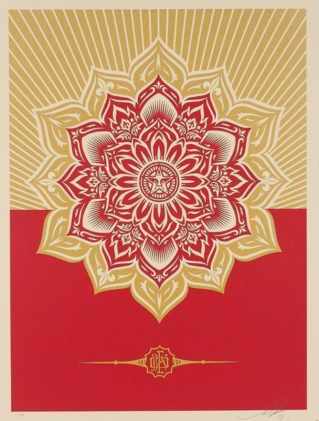 Shepard Fairey, 'Obey Mandala Holiday Ornament', 2013, DIGARD AUCTION