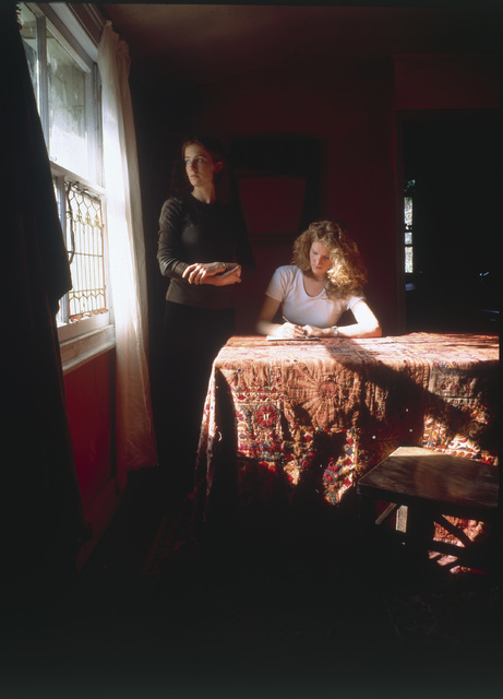 , 'Girl Writing an Affidavit,' 1997, Yancey Richardson Gallery