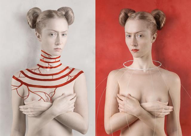 , 'For Kahlo White / For Kahlo Red,' 2007, C.A.M Galeri