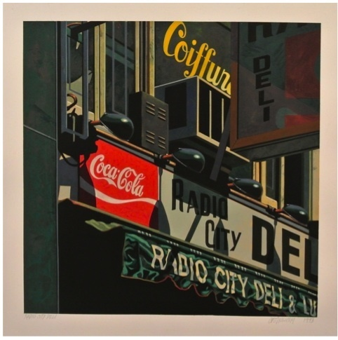 , 'Radio City Deli,' 1993, Eckert Fine Art