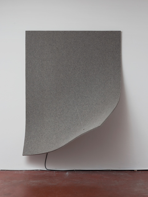 , 'Work On Felt (Variation 13), Grey, ,' 2016, Dvir Gallery