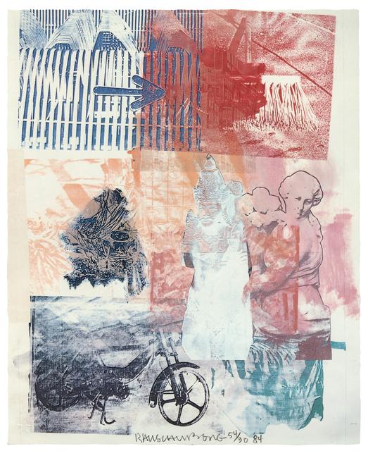 Robert Rauschenberg, 'Untitled (Arrow)', 1984, Print, Lithograph, Hindman