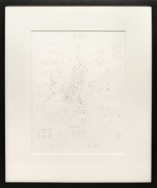 , 'UNTITLED (LOVE YES YES),' 1962, Anglim Gilbert Gallery