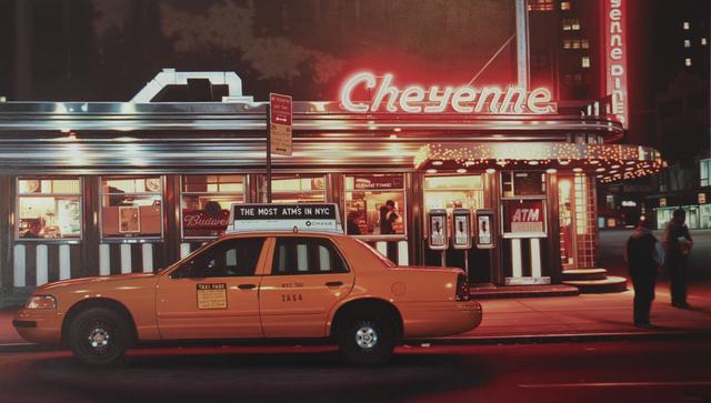 , 'Cheyenne Diner,' 2015, Louis K. Meisel Gallery