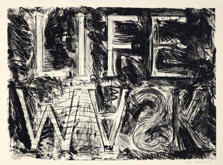 "BRUCE NAUMAN ""Life Mask"", 1981"