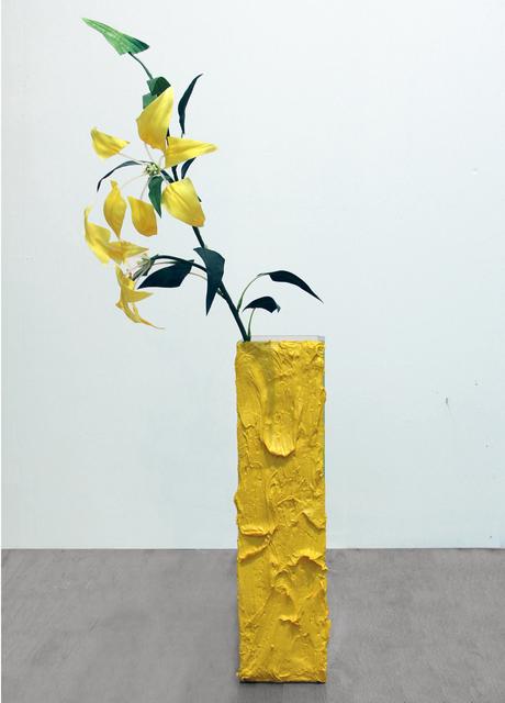 , 'Faux Faux (Iris Yellow),' 2014, LMAKgallery