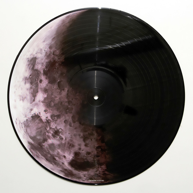 Robert Longo, 'Robert Longo vinyl record art (Robert Longo moon) ', 2007, Lot 180
