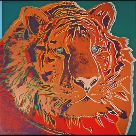 Andy Warhol, 'Siberian Tiger', 1983, DeCarrera Fine Art