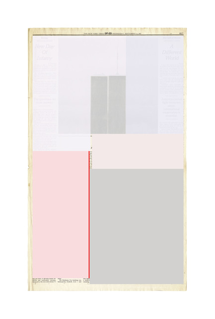 , 'Next Day Page A27,' 2015-2016, The FLAG Art Foundation