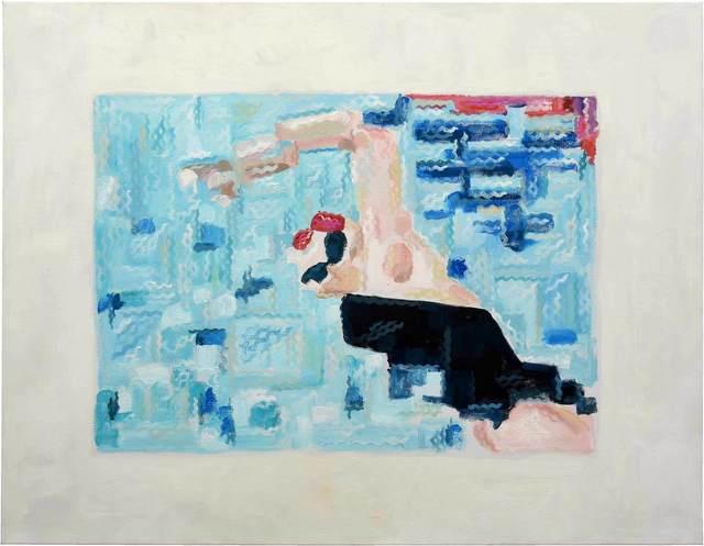 , 'La nadadora,' 2016, Barbara Thumm