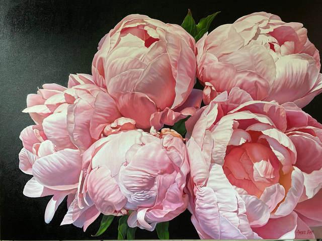 Amber Emm, 'Plush Beauties', 2021, Painting, Oil on Canvas, Black Door Gallery