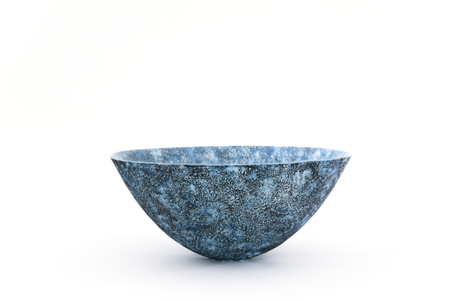 , 'Pate de Verre Bowl ( blue ),' 2017, Ippodo Gallery