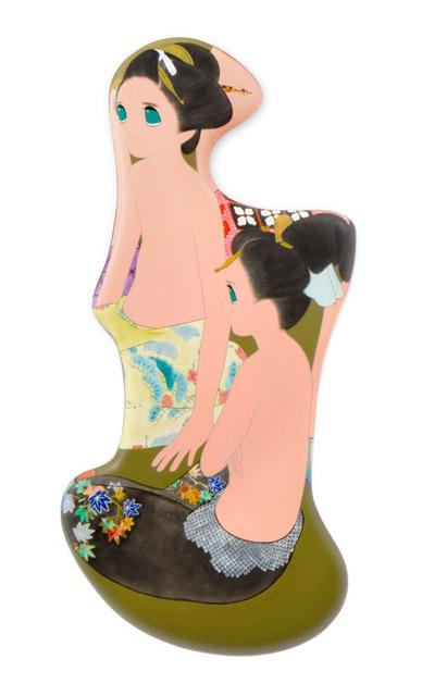 , 'tsuki wa kakureru (17),' 2011-2012, 10 Chancery Lane Gallery