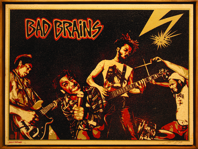 , 'Bad Brains,' 2009, Subliminal Projects