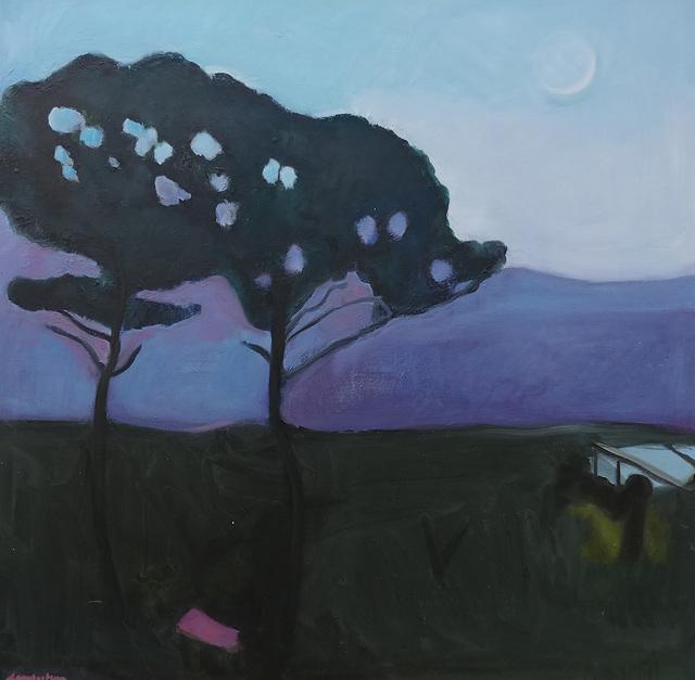 Judith Lambertson, 'Two Pines', 2016, Bowery Gallery
