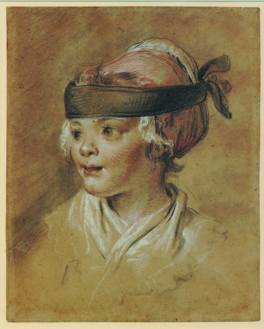 , 'Portrait of the artist's daughter at the age of two,' 1772, British Museum