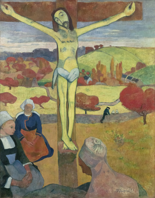 Paul Gauguin, 'The Yellow Christ', 1889, Art Gallery of Ontario (AGO)