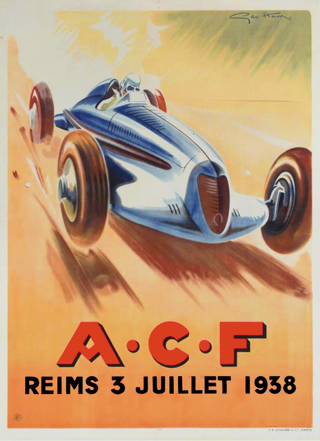 , 'A.C.F. - Reims 3 Juillet 1938,' 1938, Omnibus Gallery