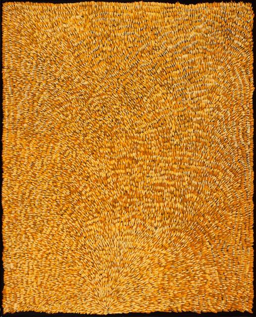 , 'Gloria Petyarre's Country by Gloria Petyarre (panel 3 of triptych),' , Nanda\Hobbs