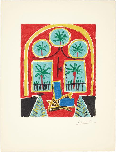 Pablo Picasso, 'La Californie (Intérieur rouge) (La Californie - Red Interior)', 1959-60, Phillips