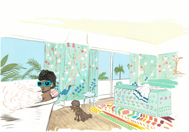 , 'Baz Luhrmann's Miami Hotel,' 2015, Gavlak