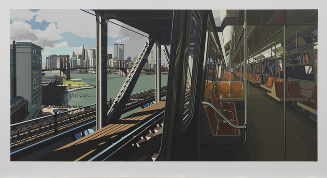 , 'D Train,' 1988, Susan Sheehan Gallery
