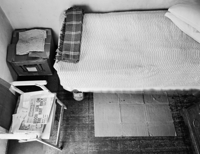 ", '""The maid's room"" in the backyard of a suburban house,' 1969, Goodman Gallery"