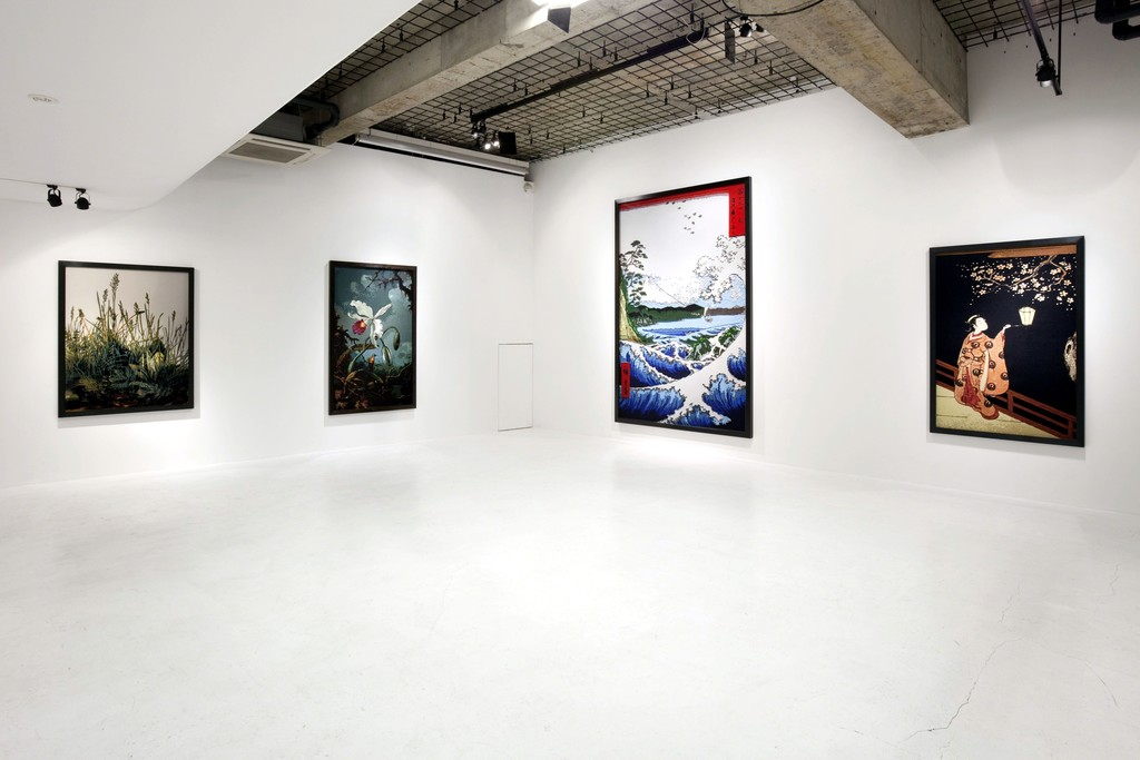 "Vik Muniz ""Pictures of Paper"" installation view at nca 