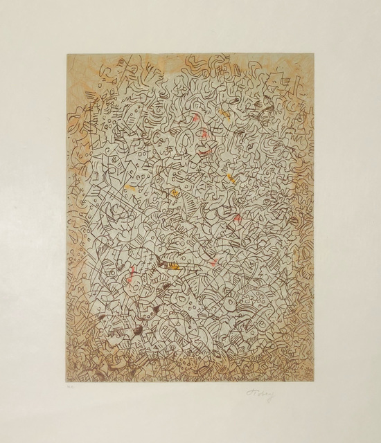 Mark Tobey, 'Untitled', 1970, Print, Lithograph, Bethesda Fine Art