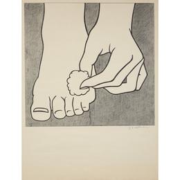 Foot Medication Poster