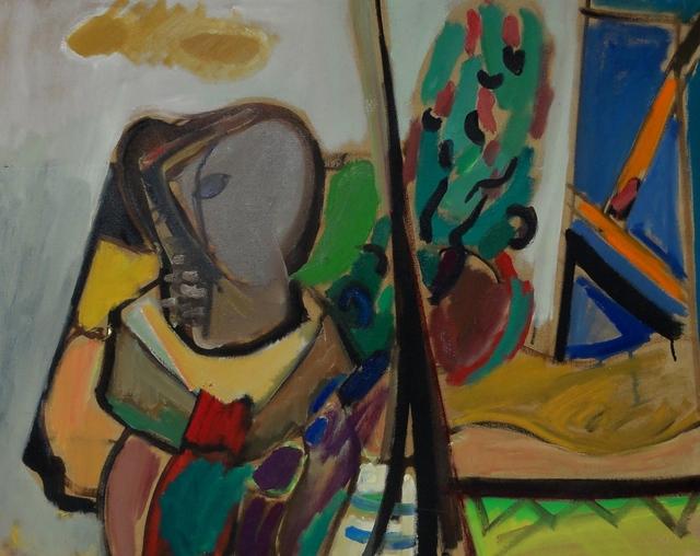 , 'Gray Face,' , Eisele Fine Art
