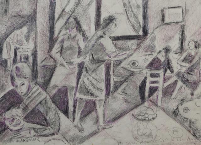 Marie Vorobieff Marevna, 'Red Cross Home', 1973, Roseberys