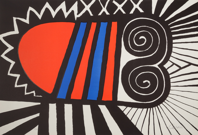 Alexander Calder, 'Papoose', 1969, Hindman