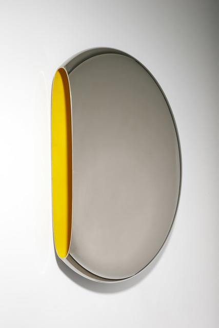 , 'Mirror 'Pantheon' Yellow,' 2011, David Gill Gallery