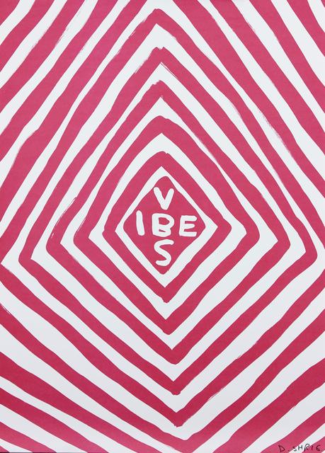 David Shrigley, 'Vibes', 2018, Print, Giclee print in colours on thin wove, Roseberys