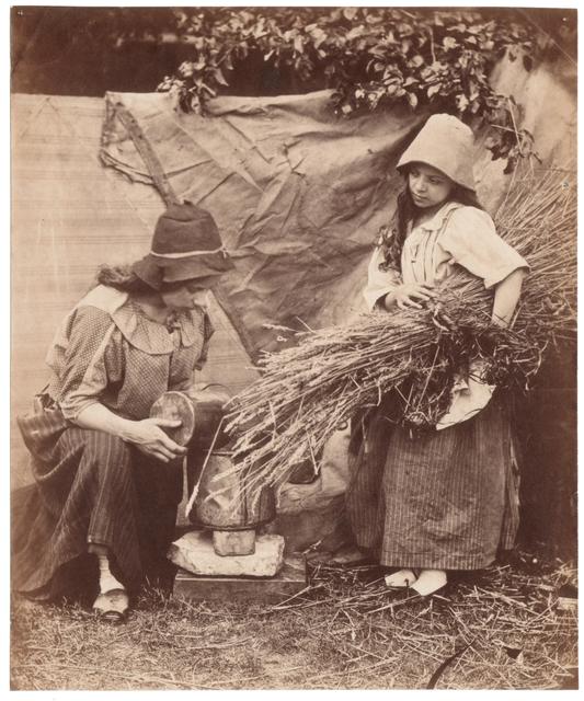 , 'Gypsy girls,' ca. 1855, Deborah Bell Photographs