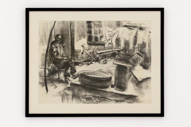Durant Sihlali, 'The backyard (Kliptown)', 1971, Gallery MOMO