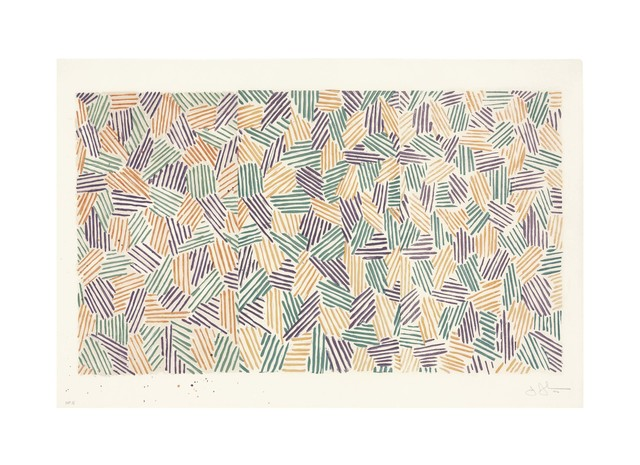 Jasper Johns, 'Scent', 1976, Print, Lithograph, linocut, and woodcut in colors on Twinrocker paper, Christie's