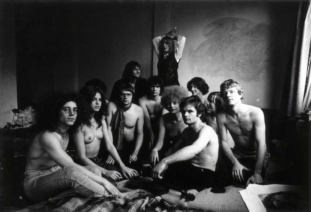 Kommune 1, 1968, © Werner Bokelberg